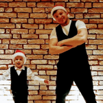 Marcin Lichocki wraz ze swoim synem Dorianem, w mikołajkowej premierze!