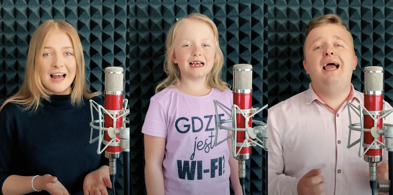 7-letnia siostra dwojga znanych wokalistów disco polo śpiewa z rodzeństwem!