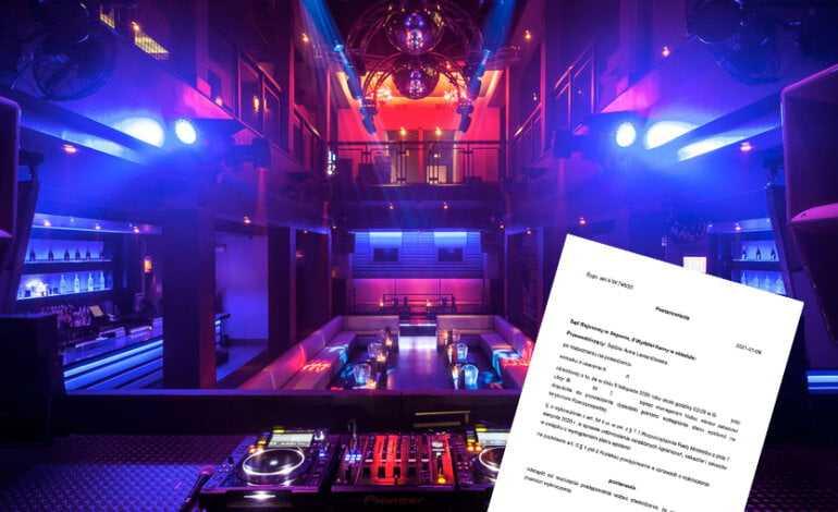 WAŻNE! Sąd odmówił ukarania klubu za organizacje imprezy! Jest szansa na powrót dyskotek!